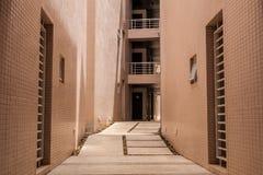 Grande corridoio vuoto Fotografia Stock Libera da Diritti