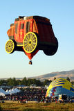 Grande corsa dell'aerostato di Reno Immagini Stock