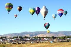 Grande corsa dell'aerostato di Reno Fotografie Stock Libere da Diritti