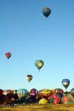 Grande corsa dell'aerostato di Reno Fotografia Stock Libera da Diritti