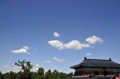 Grande costruzione del cinese antico Fotografia Stock