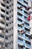 Grande costruzione di appartamento Fotografie Stock