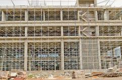 Grande costruzione di edifici Fotografia Stock Libera da Diritti