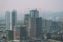 Grande costruzione di edifici Immagini Stock