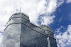 Grande costruzione di vetro Immagini Stock