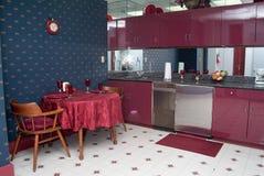 Grande cozinha foto de stock