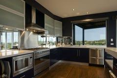 Grande cozinha Fotografia de Stock Royalty Free