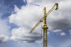 Grande Crane In The Sky 1 Fotografie Stock Libere da Diritti