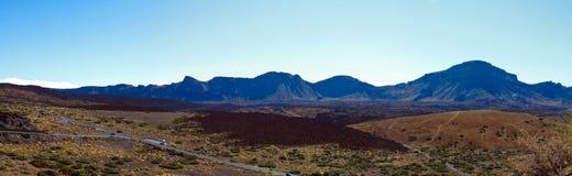 Grande cratera do vulcão Teide Imagens de Stock Royalty Free