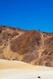 Grande cratera do vulcão Teide Fotografia de Stock