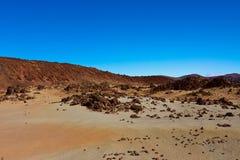 Grande cratera do vulcão Teide Fotos de Stock