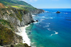 Grande côte de Sur Photos stock