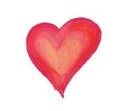 Grande cuore fotografia stock