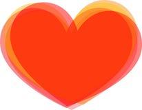 Grande cuore Fotografia Stock Libera da Diritti