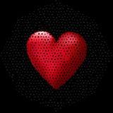 Grande cuore 3D Fotografie Stock