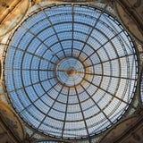 Grande cupola di vetro del lucernario Immagine Stock
