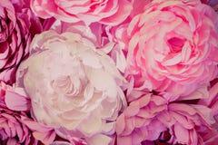 Grande decorazione dei fiori fotografia stock