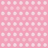 Grande dell'icona di Rose Pink Pattern Background per qualsiasi uso Vettore eps10 Immagini Stock Libere da Diritti