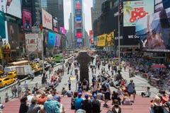 Grande della folla quadrato a volte, New York Immagini Stock