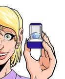 Grande diamante Immagine Stock