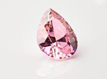 Grande diamante viola Fotografia Stock Libera da Diritti