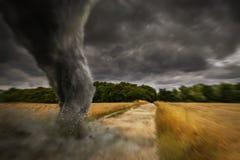 Grande disastro di tornado illustrazione vettoriale