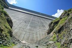 Grande Dixence dam Stock Photography