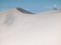 Grande duna de areia  Fotografia de Stock