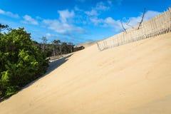 Grande duna di Pyla, la duna di sabbia più alta sedere in Europa, Arcachon Fotografia Stock