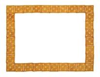 Grande e blocco per grafici sottile dei cracker Fotografia Stock Libera da Diritti