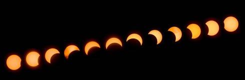Grande eclipse americano 2017 Imagem de Stock