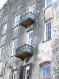 Grande edifício velho Imagens de Stock Royalty Free