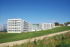 Grande edificio per uffici moderno immagine stock