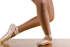 Grande entrenamiento del ballet de la reverencia Imagen de archivo libre de regalías