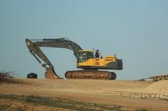 Grande escavatore Fotografia Stock Libera da Diritti