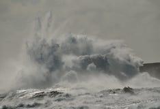 Grande esplosione di acqua Fotografia Stock