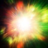 Grande esplosione nella radiazione della reliquia e dello spazio Elementi di questa immagine ammobiliati dalla NASA http://www NA Immagini Stock Libere da Diritti
