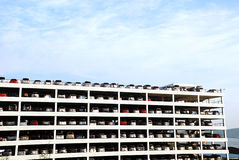 Grande estacionamento Imagem de Stock Royalty Free