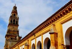 Grande esterno della moschea della Spagna Cordova (8) fotografie stock libere da diritti