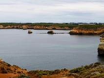 Grande estrada Austrália do oceano Fotografia de Stock Royalty Free