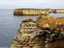 Grande estrada Austrália do oceano Foto de Stock Royalty Free