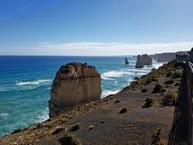 Grande estrada Austrália do oceano Fotos de Stock