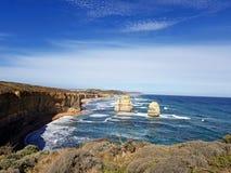 Grande estrada Austrália do oceano Imagem de Stock Royalty Free