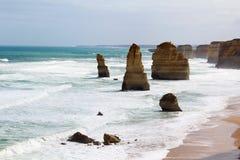 Grande estrada do oceano, Austrália Fotografia de Stock