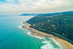 Grande estrada em Victoria, Austr?lia do oceano fotos de stock