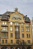 Grande Europa dell'hotel Quadrato di Vaclavske, Praga, repubblica Ceca Immagini Stock