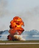 Grande explosion Images libres de droits
