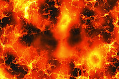 Grande explosion photo stock
