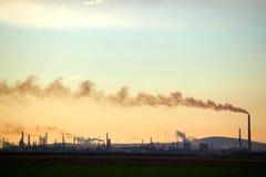 Grande fabbrica Fotografia Stock