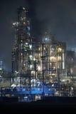 Grande fabbrica di potenza dell'olio Fotografia Stock